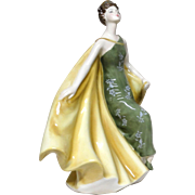 "ROYAL DOULTON - ""Alexandra"" HN 2398 Lovely Porcelain Figurine From England"