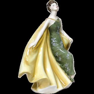 "ROYAL DOULTON - ""Alexandra"" HN 2398 Lovely Porcelain Figurine From England"