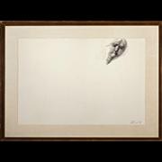 """EMILIO GRECO  (Italian, 1913-1995) Original Signed Ink On Paper """"Nude"""""""