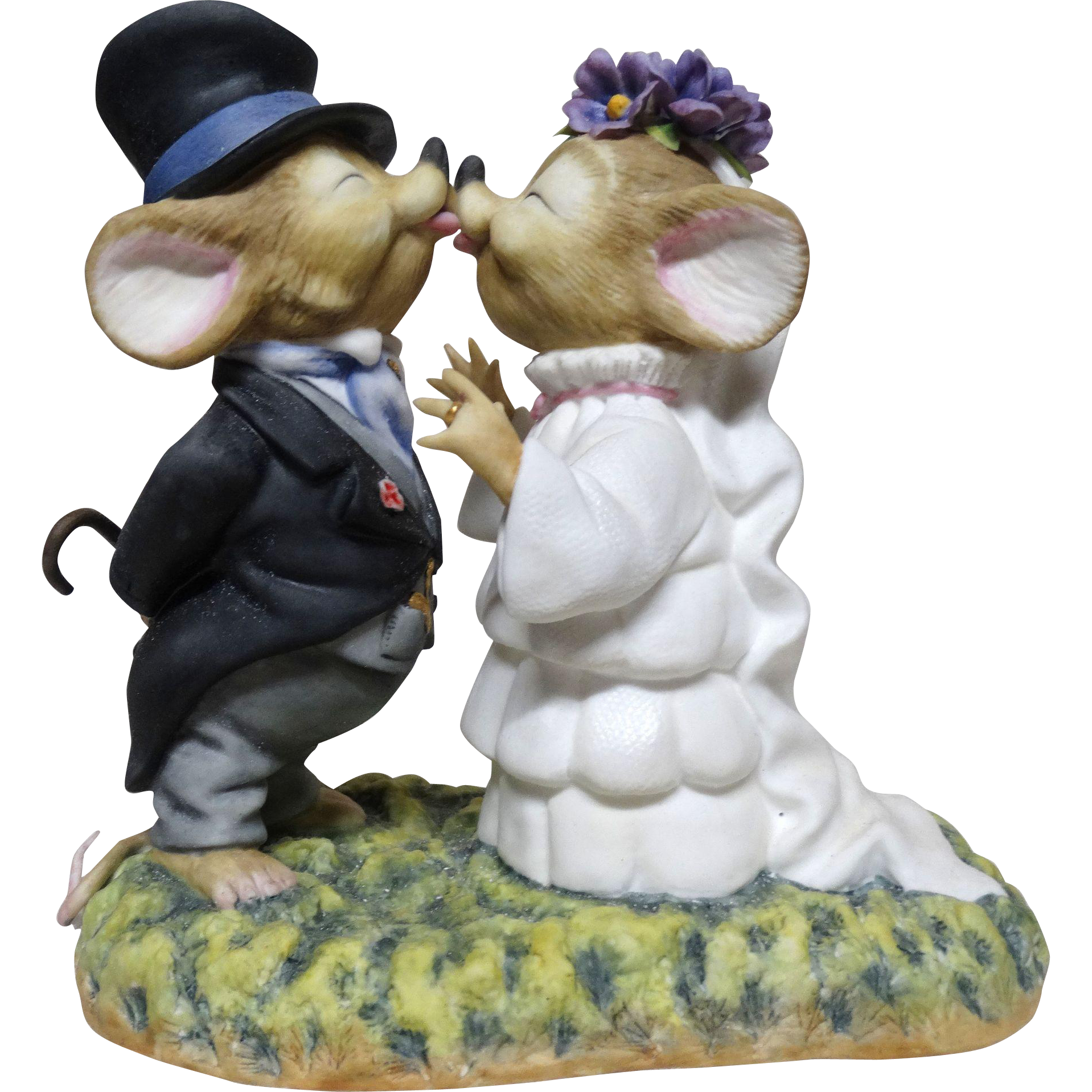 """Connoisseur of Malvern Bisque Porcelain - """"The Wed"""" - Number 6 of a Closed Edition of 100 - c. 1990 - From England - VERY RARE"""
