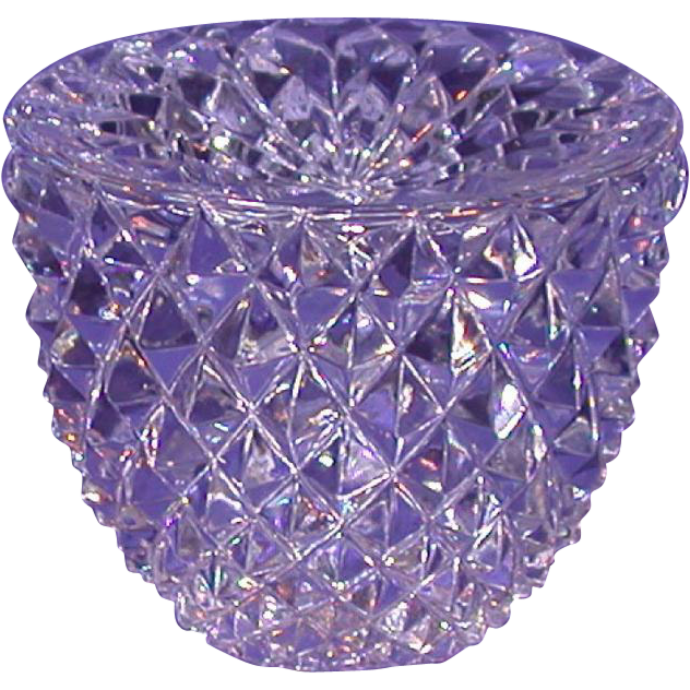 Exquisite Multi-Faceted Paperweight, Unusual Shape, With Star Cut Base