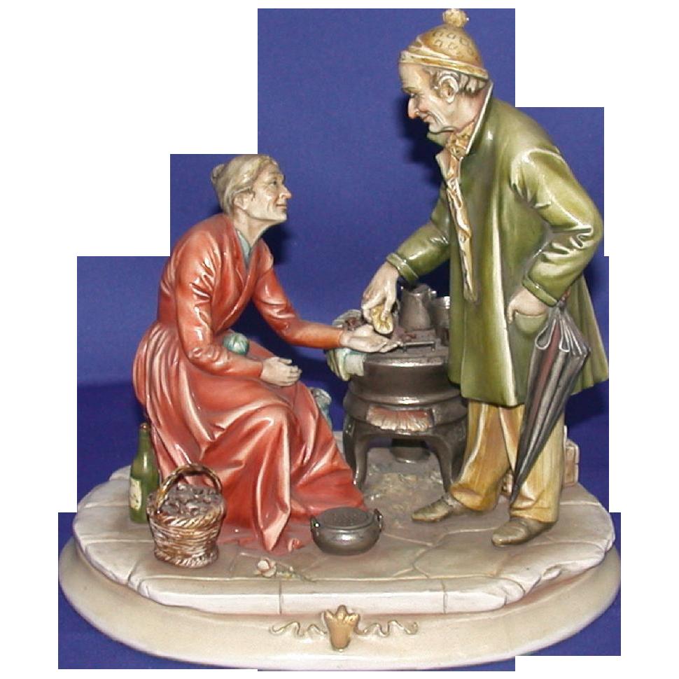 """Borsato - """"Sweet Memories"""" - Exquisite Multi-Figural Porcelain Sculpture"""