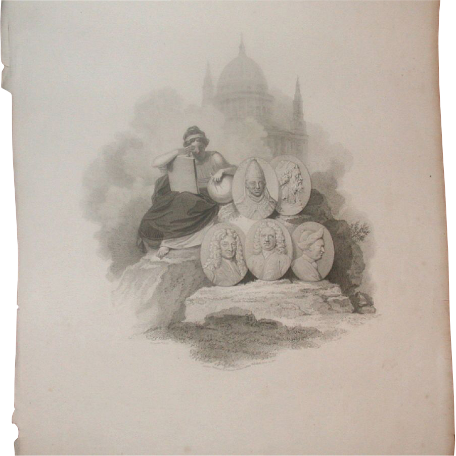 "Fabulous Antique Print - ""London Published by R. Bowyer Historic Gallery, Pall Mall, April 10, 1801"""
