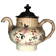Doulton Burslem Royles Antique Self Pouring Teapot, Circa 1892
