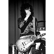 Led Zeppelin - Jimmy Page - Very Limited Edition - Signed, Dated and Numbered by Photographer, Michael Maltese