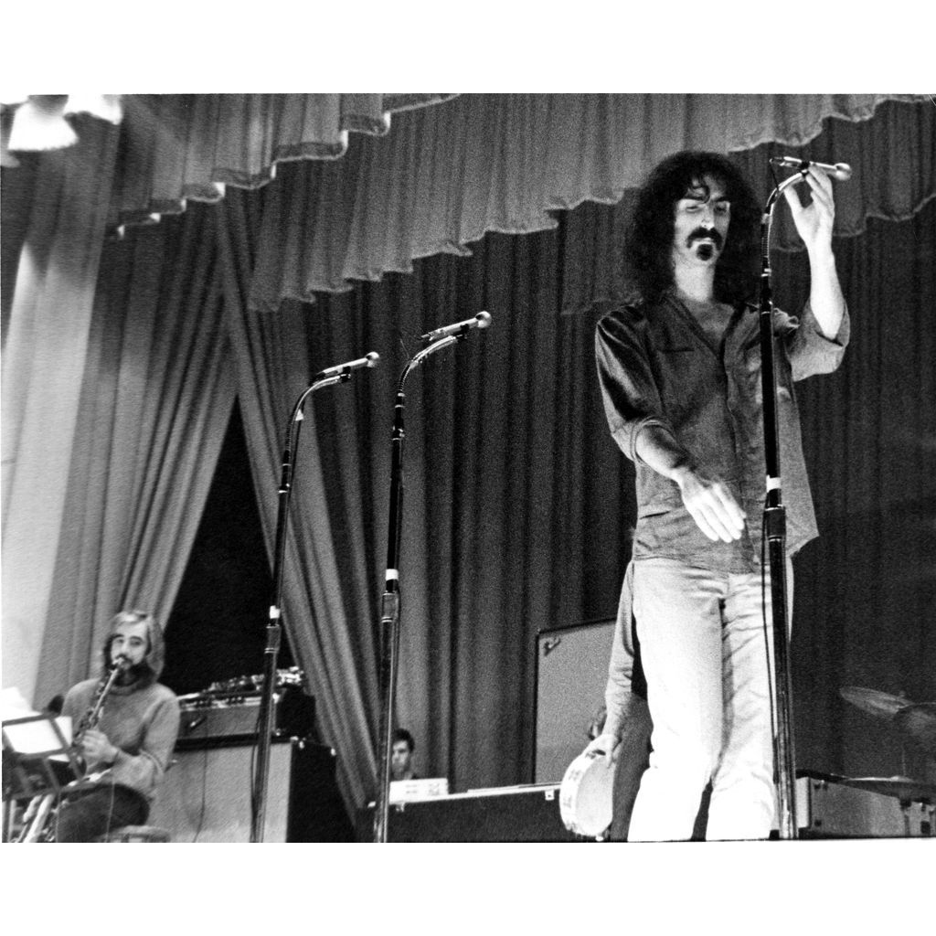 FRANK ZAPPA (MOTHERS OF INVENTION) - Extremely Rare Original Photograph (One of Only Two!)