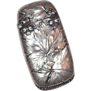Gorham Silver SPECIAL ORDER Match Safe, circa 1901