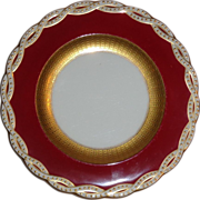 Ten Antique Minton Porcelain Plates Made For Tiffany And Co.