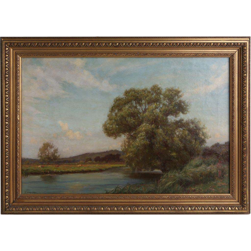 William Henry Gore R.B.A. (British, 1880-1927) - Important Antique Oil Painting by Well-Listed Artist