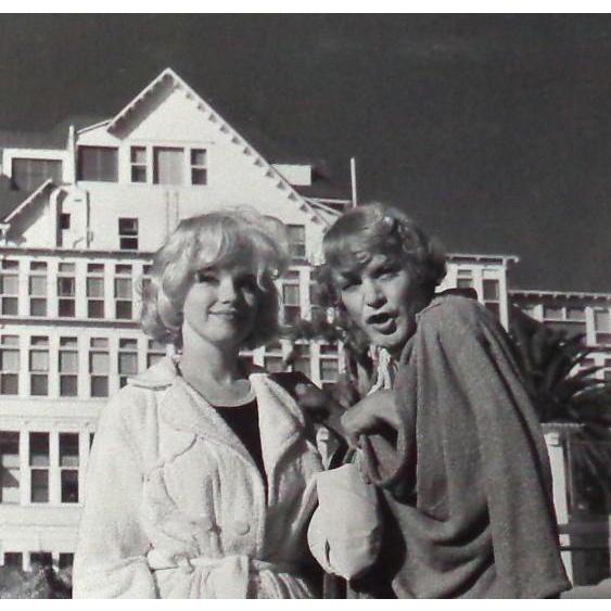 "Marilyn Monroe and Jack Lemmon - ""Some Like It Hot"" - B/W Photo, c. 1959"