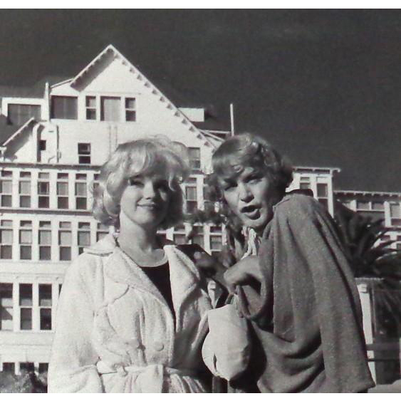 "Marilyn Monroe and Jack Lemmon - ""Some Like It Hot"" - B/W Photo, c. 1959"