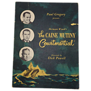 Caine Mutiny Court Martial Program, Signed by Cast, Including Henry Fonda, Lloyd Nolan, C 1954