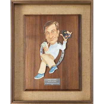 Walter Matthau Award From Lemmon/Matthau Golf Classic, c. 1979