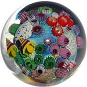 STEVEN LUNDBERG - Personally Signed Unusual Paperweight With Fish and Barnacles.