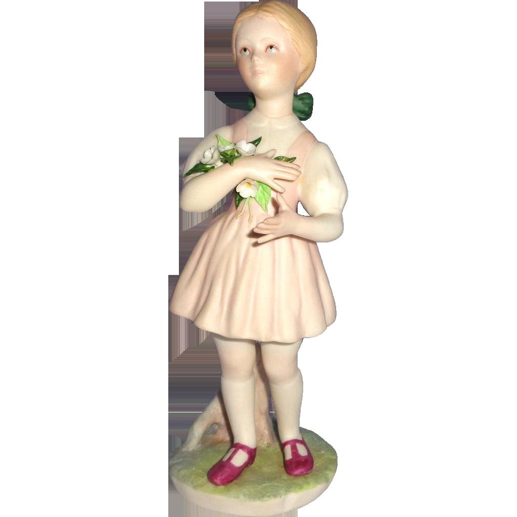 """CYBIS -  """"Heidi"""" - Vintage Porcelain From Children To Cherish Series"""