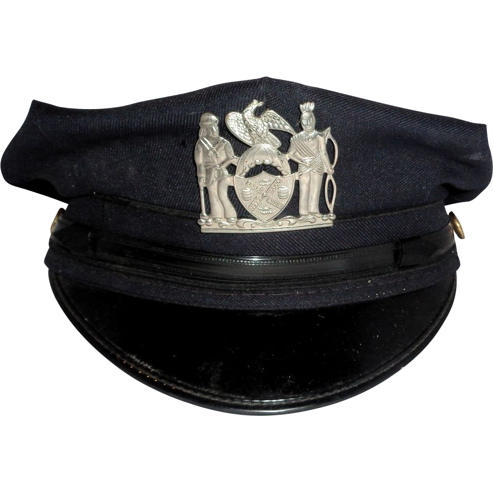 Larry Hagman Estate  Policeman's Cap
