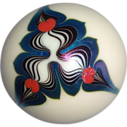Steven Lundberg Personally Signed and Dated Paperweight Circa 1975