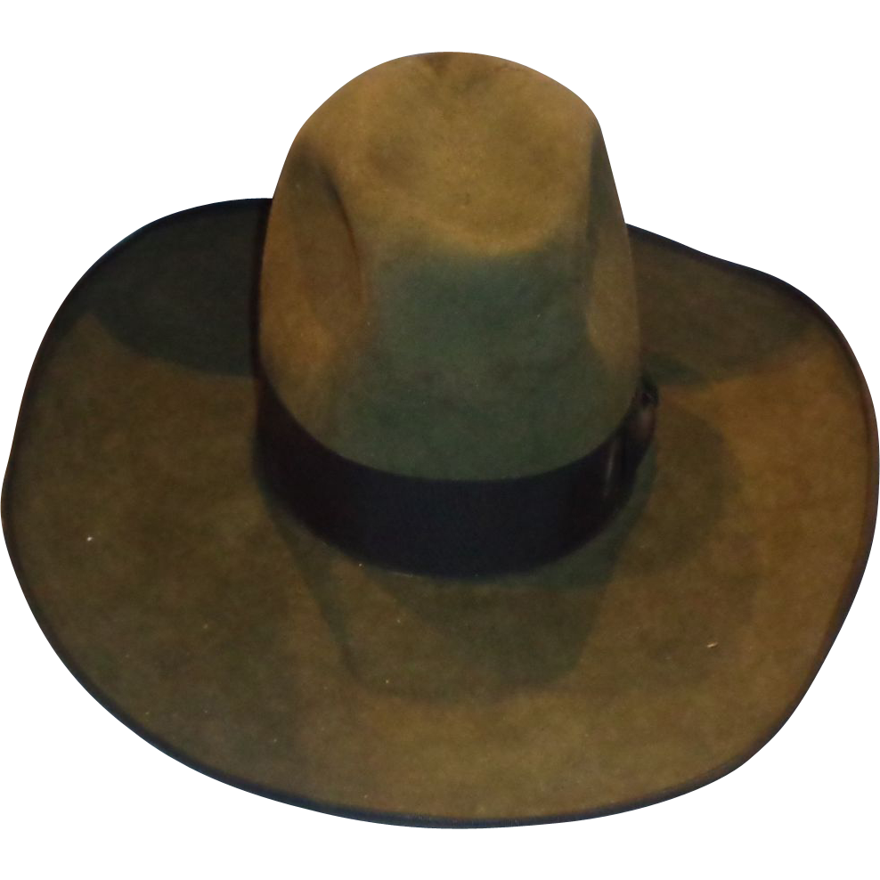 Larry Hagman Custom Made O'Farrell Cowboy Hat