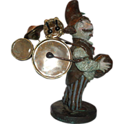"""Charles Bragg (born 1931-) Sculpture """"Guthrie Dylan - One Man Band"""" Signed, Numbered Limited Edition"""