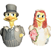 "Bride And Groom ""Made For Each Other"" Hatching Chicks By M. Bowmer"