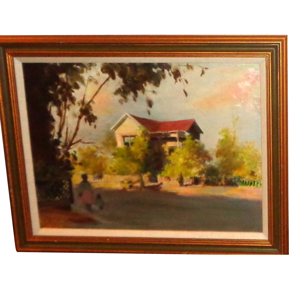 Anatole Aleksandrovich Efimov (Russian 1897 - 1981) Original Oil, An Outstanding Work