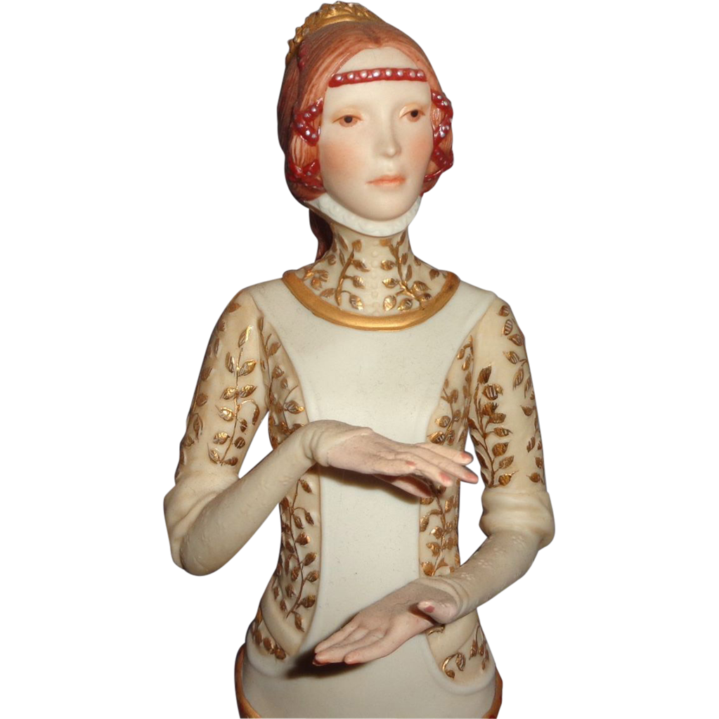 "Cybis  ""Lady Macbeth"" Closed Limited Edition - Signed and Numbered - No Crown"