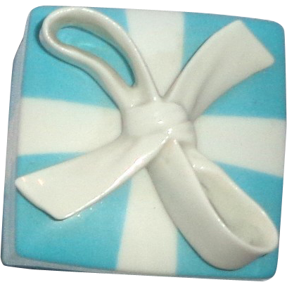 Tiffany & Co. Porcelain Lidded Gift Box, The Box Is The Gift!
