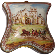 Porcelaine de Paris Limited Edition Shaped Dresser Box