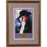 Michael Crawford as The Phantom Of The Opera - Signed Framed Photograph