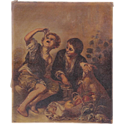 Continental School, 19th Century, Oil on Canvas