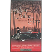 "Phyllis Diller Estate - ""Cars & Stars"" gala at the Petersen Automotive Museum Souvenir Plaque"