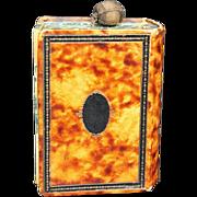 """Antique """"Book"""" Snuff Box, Circa 1880"""
