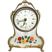 From Germany - Linden Black Forest Clock With Reuge Music Box