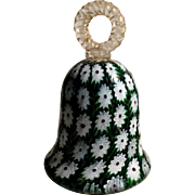 Italian Glass Bell Paperweight