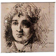 Old Master Drawing, Spanish School, 17th Century