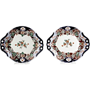 Pair of Antique Imari Porcelain Serving Dishes.