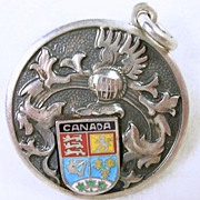 Sterling Silver Canadian Pendant