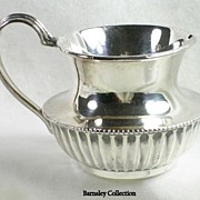 Vintage Silver Plated Creamer by Potter of Sheffield