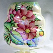 Collectible Maling Lustreware Dahlia Pattern  Vase – c.1930