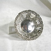 Victorian Silver Bonbon Dish – c. 1898 – Beautiful!