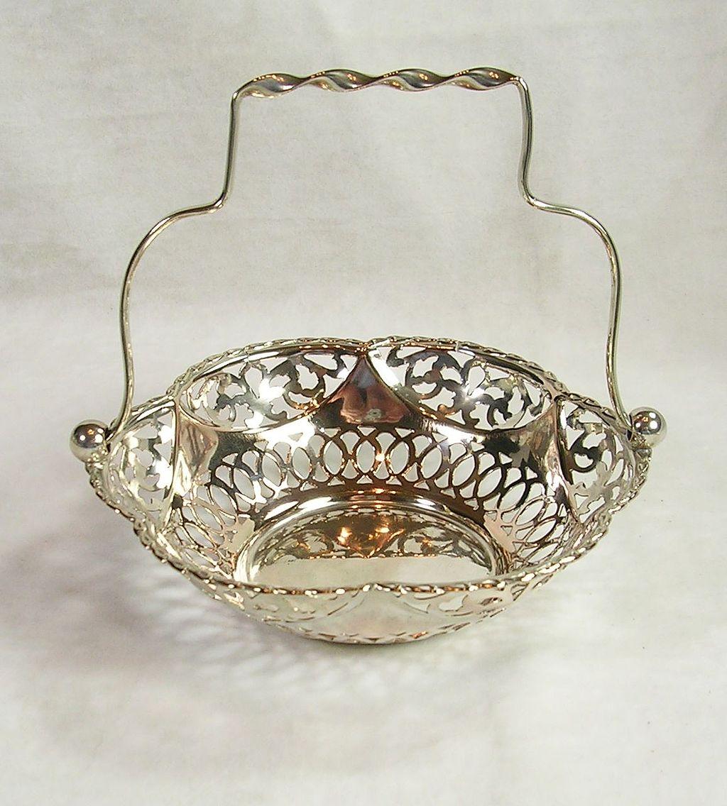 Art Nouveau Silver  Plated Bonbon Candy Dish – c. 1911