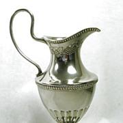 Elegant Silver Plate Grecian Ewer Jug  –  Remarkable!