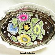 Wedgewood Susie Cooper Oval Silver Jubilee Dish 1952-1977