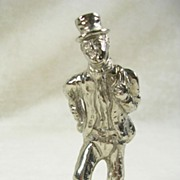 Vintage Silver  Plated Figurine of Sam Weller