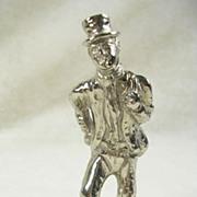 Vintage Silver  Plated Figurine of Sam Weller