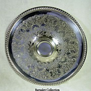 Silver Plated W.M. Rogers Serving Condiment Tray