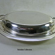 Victorian Silver Plated Serving Dish and Cover – c. 1886 – 1893