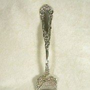 Ornate Silver plate  Serving Fork by Rogers- c. 1850 - 1899