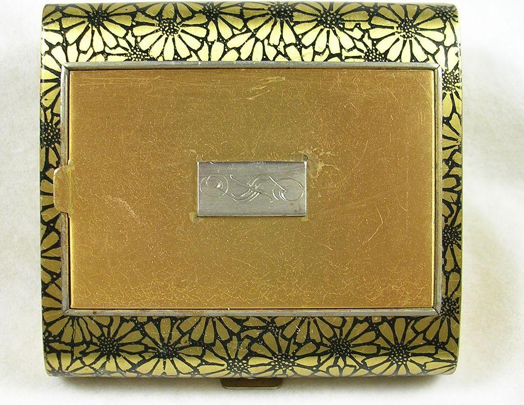 Art Deco Vintage Cigarette Case and Compact – Fabulous!