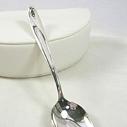 "Reed & Barton ""Silver Sculpture"" Coffee Spoon"